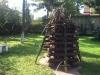 Preparação para a fogueira de São João 2013